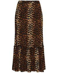 Just Female Elinor Maxi Skirt - Multicolour