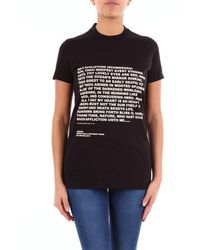 Rick Owens Drkshdw Blue T-shirt - Black
