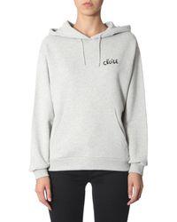 Être Cécile Hooded Sweatshirt - Gray