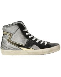 Philippe Model Paris High Trainers - Grey