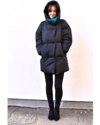 Numph - Catrine Black Coat - Lyst
