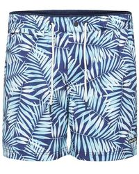 SELECTED Ibiza Swim Shorts , Title: Depths - Blue