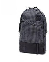Topo Designs Klettersack Backpack Black / White Ripstop