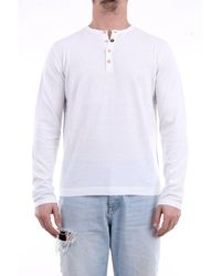 Heritage T-shirt With Long Sleeves In White