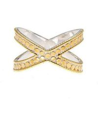 Anna Beck - Cross Ring - Lyst