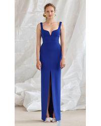 Solace London Linza Dress Blue