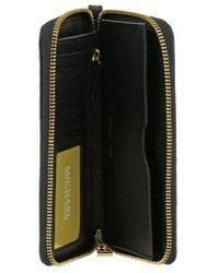 Michael Kors Large Phone Case Crossbody Colour: Black