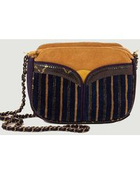 Sessun Divine Browny Multi-material Bag Browny Navy Sessãƒâ1n - Purple
