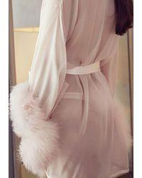 Gilda & Pearl Diana Pom Pom Thong - Pink