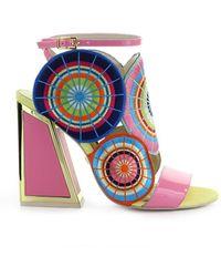 Kat Maconie Frida Pink Multicolour Sandal