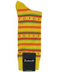 Pantherella - Wasco Sock In Saffron - Lyst