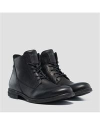 Replay Gunhill Boots Colour: Black