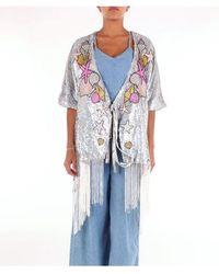 Glamorous Dress Calf Women Silver - Metallic