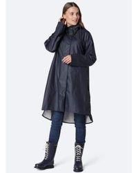 Ilse Jacobsen Rain 71 Raincoat Dark Indigo 660 - Blue