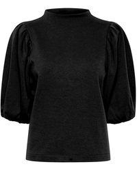Ichi Tesha Sweatshirt - Black
