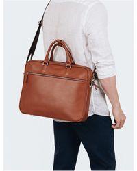 Sandqvist Dag Briefcase (leather) - Brown
