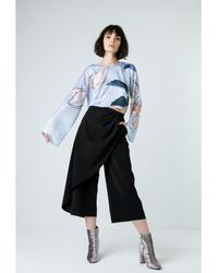 Atterley - Wrapped Culottes - Lyst