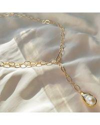 Ashiana London Perla Chain Multiway Necklace - Multicolour