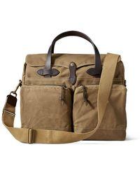Filson 24-hour Tin Briefcase Tan - Brown