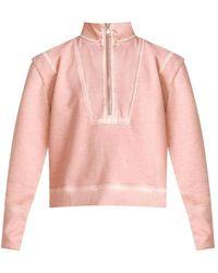 Veronica Beard Dylan Sweatshirt - Rosewood - Pink