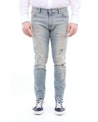 Represent Jeans Repairer Slim Fit - Blue
