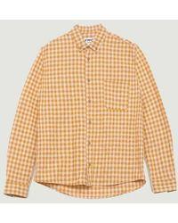 YMC Dean Shirt Yellow