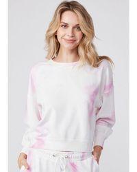 PAIGE Lisbet Sweatshirt - Fuschia Multi - Pink