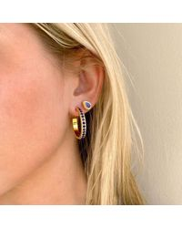 Anna Beck Lapis Teardrop Stud Earrings - Metallic
