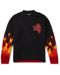 Palm Angels Burning Casentino Sweater Sweater - Multicolor