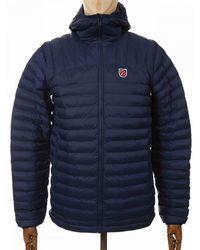 Fjallraven Fjallraven Expedition Latt Hooded Jacket - Navy - Blue