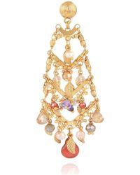 Gas Bijoux Earrings - Metallic