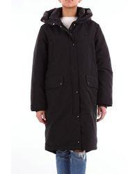 Duvetica Long Black Down Jacket