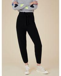 Cocoa Cashmere Maisie Trouser - Black