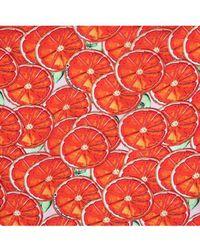 POM Amsterdam - Red Oranges Shawl - Lyst