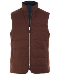 Stenstroms - Down Quilted Reversible Gilet - Lyst