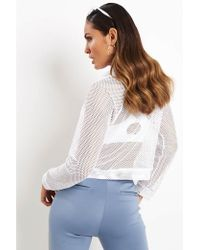 Koral - Pump Long Sleeve Pullover White - Lyst