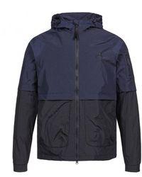 MA.STRUM Mastrum Nt Hooded Jacket - Blue