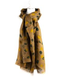 Dianora Salviati - Soldera Taupe Linen Scarf - Lyst