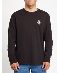 Volcom | Deadly Stone Long Sleeves T-shirt | Black
