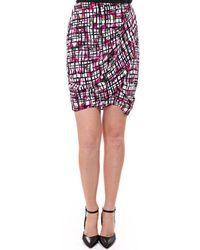 Paul Smith Womens Womens Skirt Woven Pbxb/n140/447 - Pink