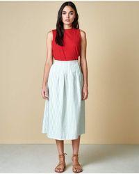 Bellerose Lexo Peppermint Skirt - Green