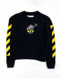 Off-White c/o Virgil Abloh Free Wizard Sweatshirt - Black