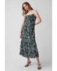 Great Plains Gp Summer Meadow Midi Dress - Green