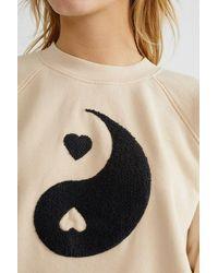 Thinking Mu Yin Yang Organic Sweatshirt - Multicolour