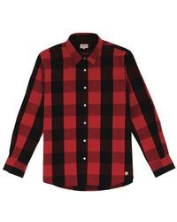 Armor Lux Checked Shirt - /black - Red