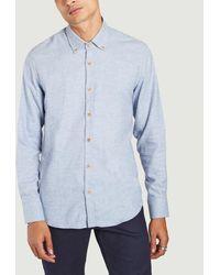 Homecore Tokyo Lumb Shirt Ice - Blue