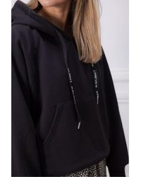 5preview Ellis Hooded Sweat With Logo - Blue