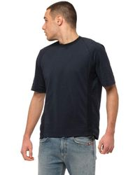 Transit T-shirt For Men Cfutrn1362 U05 - Blue