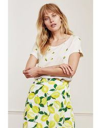 FABIENNE CHAPOT Kris Lime T Shirt - Yellow