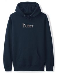 Butter Goods Speckle Classic Logo Pullover Hoodie - Multicolour
